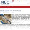 مسکو و تهران در حال مذاکره و رایزنی برای ایجاد کانالی میان دریای خزر و خلیج فارس هستند