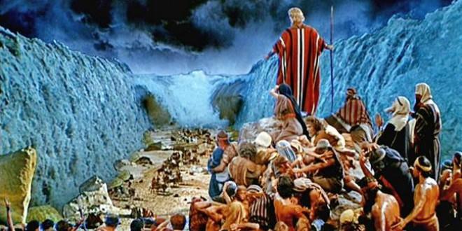 صحنه های واقعی عبور حضرت موسی(ع) و بنی اسرائیل از دریا توسط دانشگاه قاهره بازیابی شد