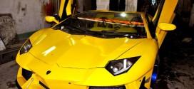 ساخت خودروی لامبورگینی وطنی در مشهد+تصاویر