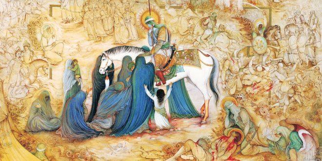گفتوگو با رضا مهدوی، نگارگر برجسته در آستانه میلاد حضرت علی(ع)
