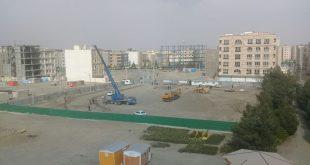 آغاز عملیات احداث شفت غربی خط ۳ قطار شهری مشهد در انتهای بزرگراه امیریه